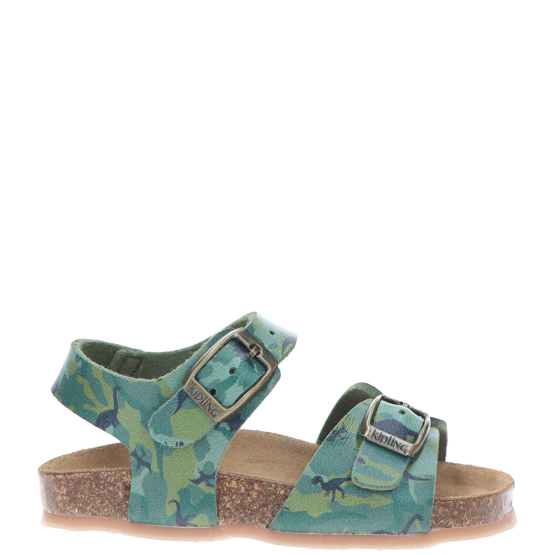 Kipling sandaal, Sandalen, Jongen, Maat 23, groen