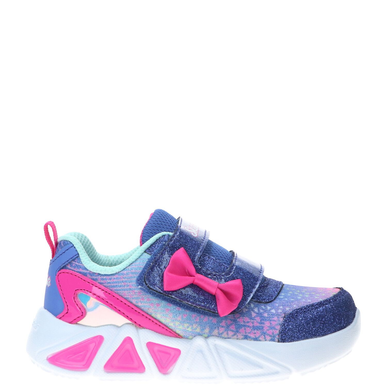 Skechers Tri-Brights sneaker, Sneakers, Meisje, Maat 24, roze/paars