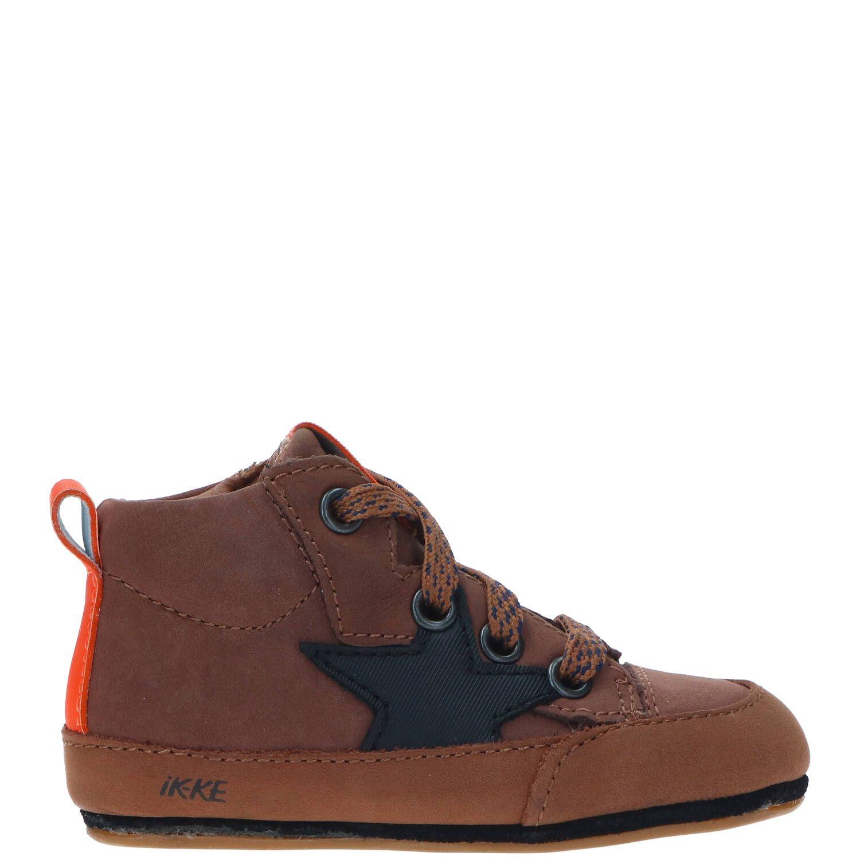 IK-KE babyschoentje, Lage schoenen, Jongen, Maat 21, bruin/Cognac