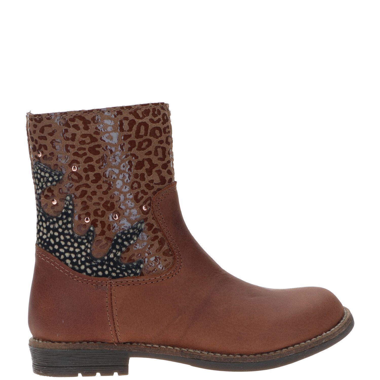 IK-KE laarsje, Lage schoenen, Meisje, Maat 31, bruin/Cognac