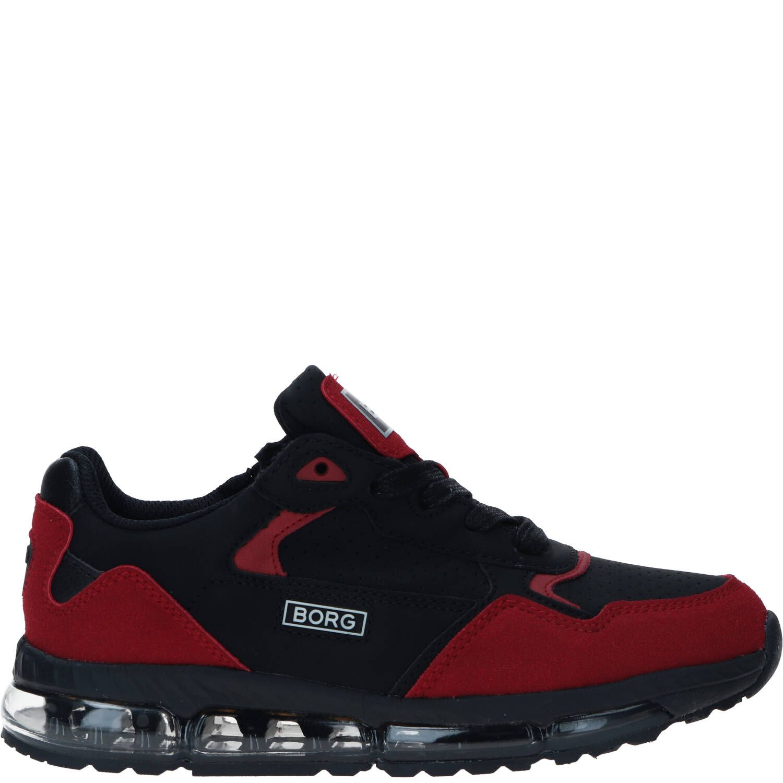Bjorn Borg X500 sneaker, Sneakers, Jongen, Maat 35, Overig/rood