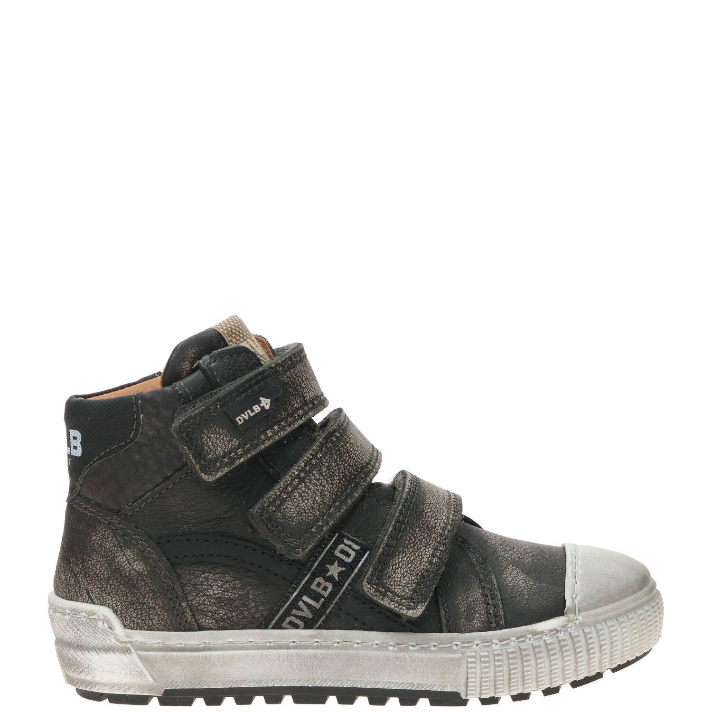 Develab klittenbandschoen, Lage schoenen, Jongen, Maat 27, grijs
