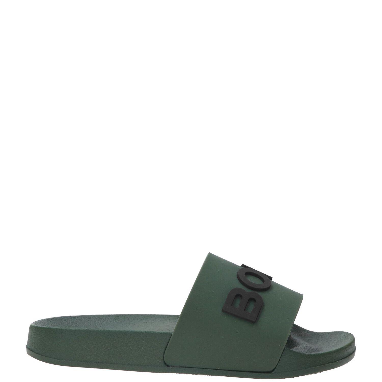 Bjorn Borg Harper 2 M slipper, Slippers, Jongen, Maat 33, groen