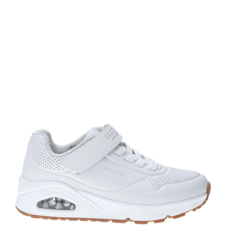 Skechers Uno Air Blitz sneaker, Sneakers, Meisje, Maat 37, wit