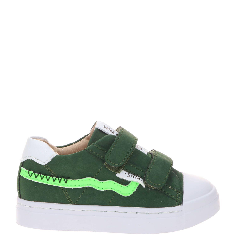 Shoesme klittenband schoen, Lage schoenen, Jongen, Maat 29, groen