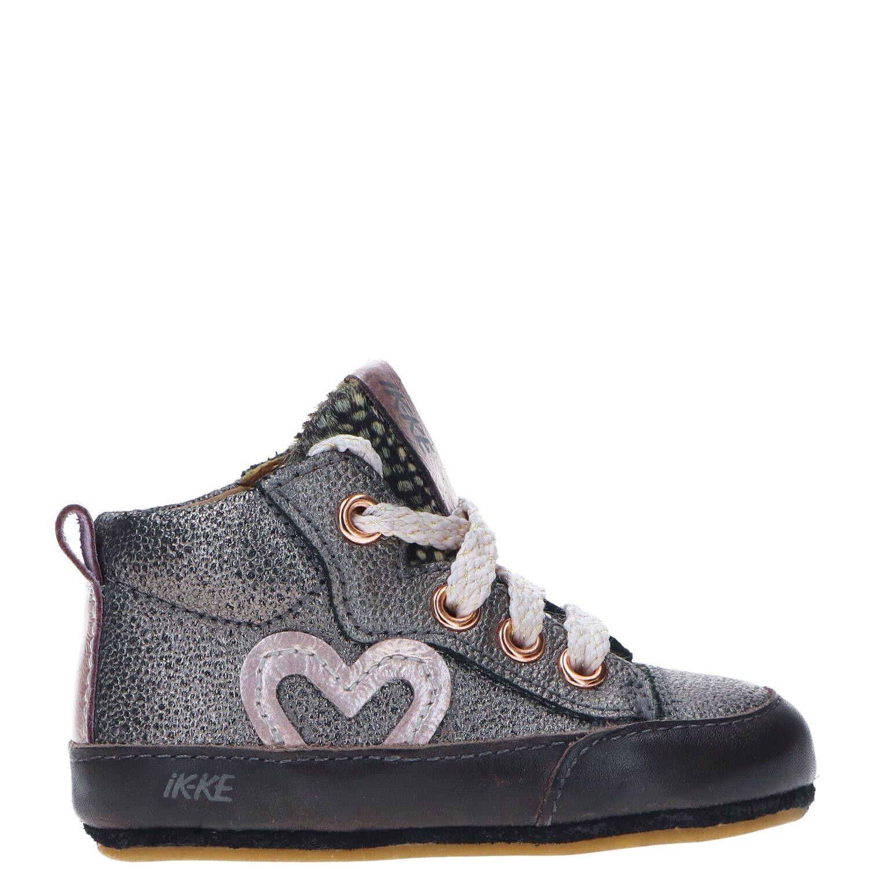 IK-KE babyschoentje, Lage schoenen, Meisje, Maat 19, zilver