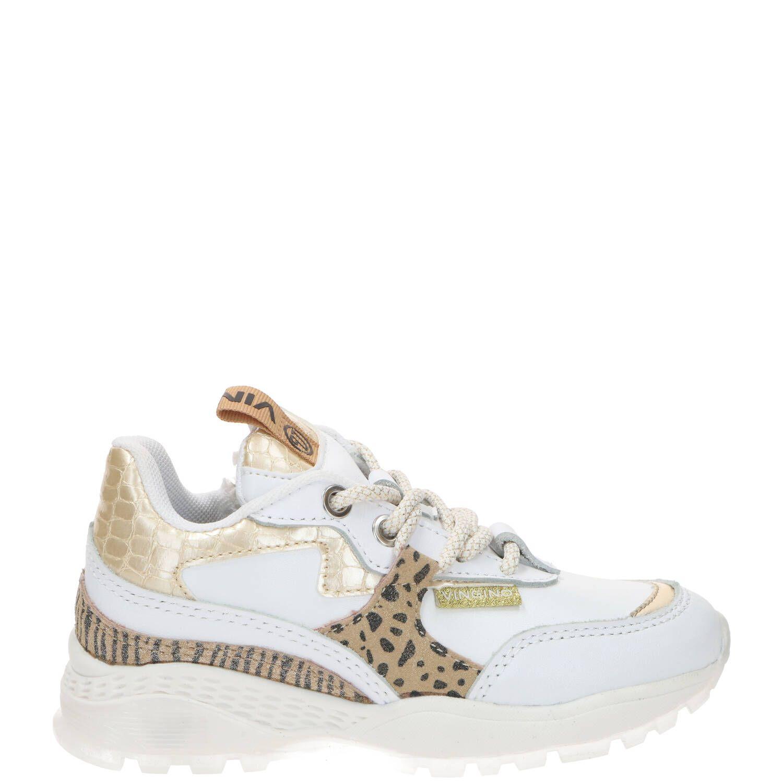 Vingino Mandy sneaker, Sneakers, Meisje, Maat 33, wit