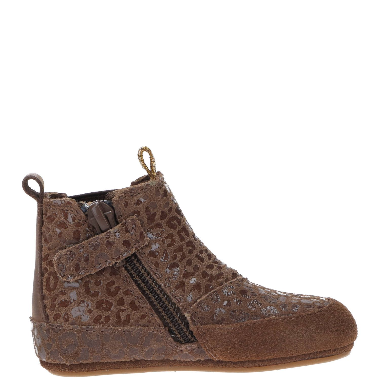 IK-KE babyschoentje, Lage schoenen, Meisje, Maat 19, bruin/Cognac