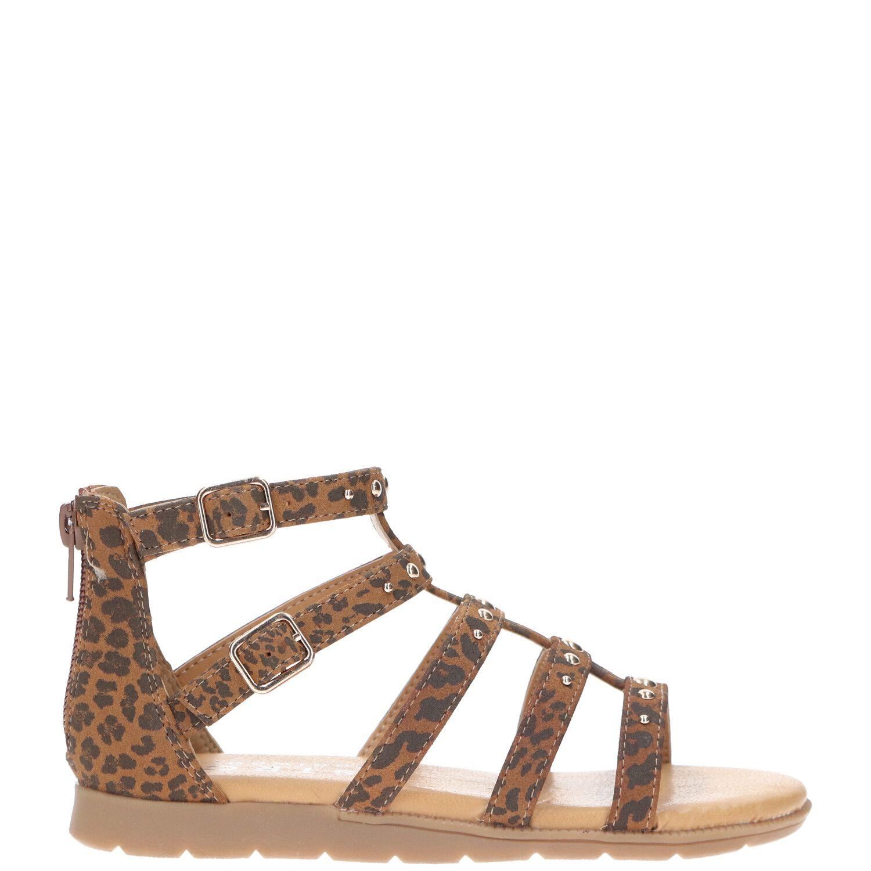 DSTRCT sandaal, Sandalen, Meisje, Maat 31, bruin/Cognac