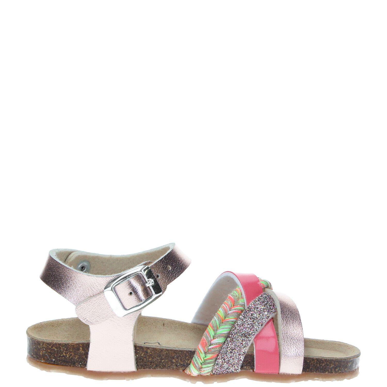 IK-KE  sandaal, Sandalen, Meisje, Maat 26, roze/multi