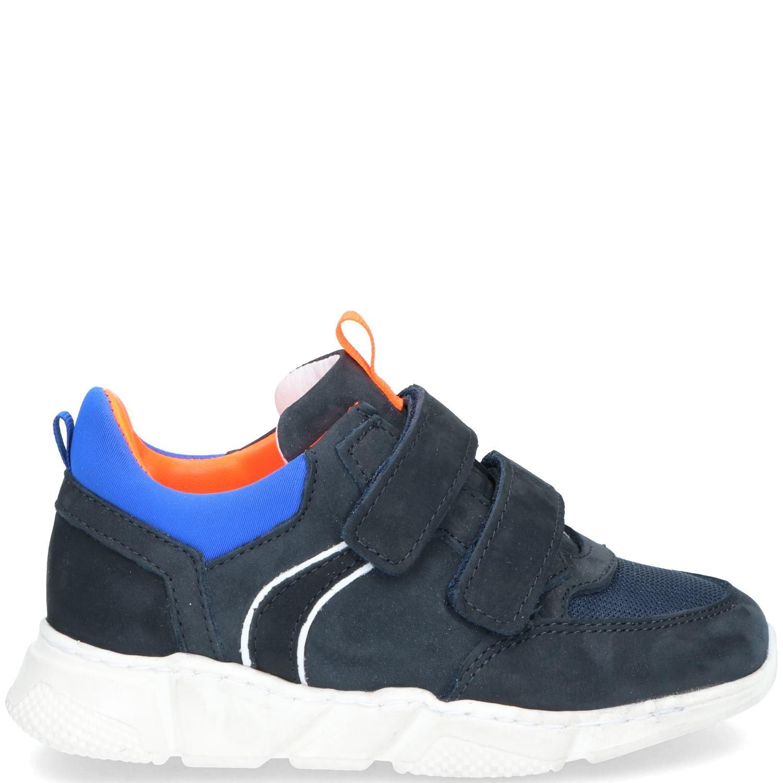 DSTRCT klittenbandschoen, Lage schoenen, Jongen, Maat 32, blauw