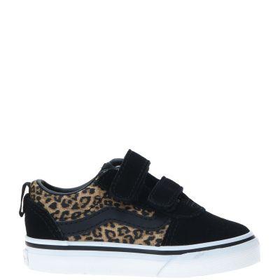 Vans Ward V Cheetah klittenband sneaker