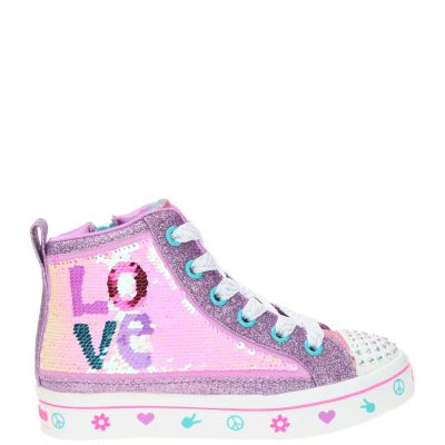 Skechers Twi-Lites 2.0 Lilac Love veterboot
