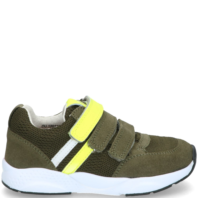 IK-KE klittenbandschoen, Lage schoenen, Jongen, Maat 32, groen/multi