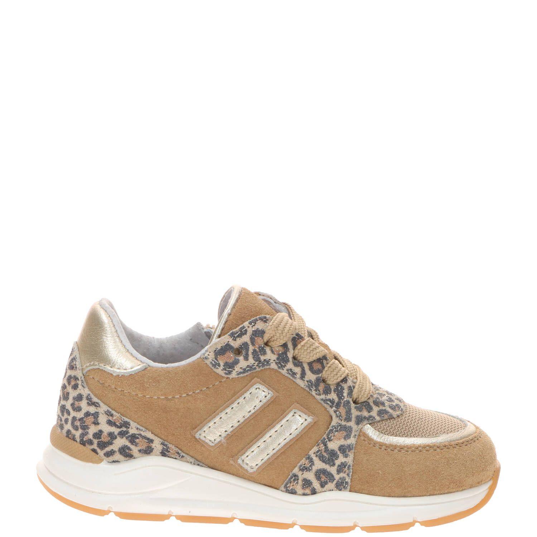 IK-KE sneaker, Sneakers, Meisje, Maat 22, goud/multi