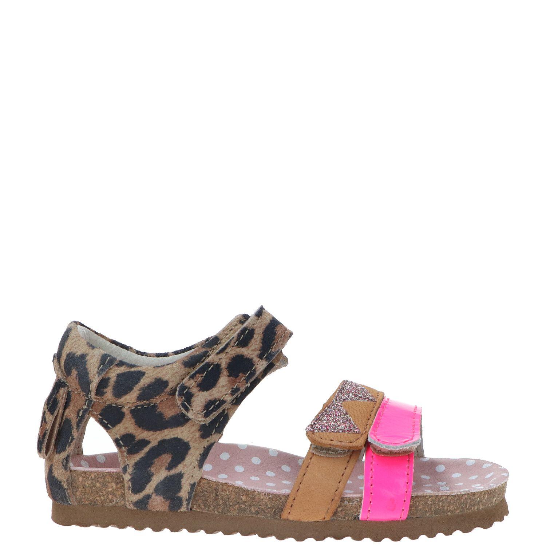 Shoesme sandaal, Sandalen, Meisje, Maat 26, bruin/roze