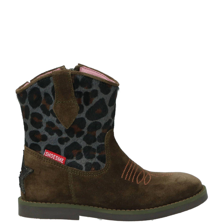 Shoesme laarsje, Lage schoenen, Meisje, Maat 26, groen/Kahki