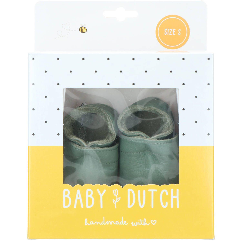 Baby Dutch babyslofje, Lage schoenen, Jongen, Maat 19, groen