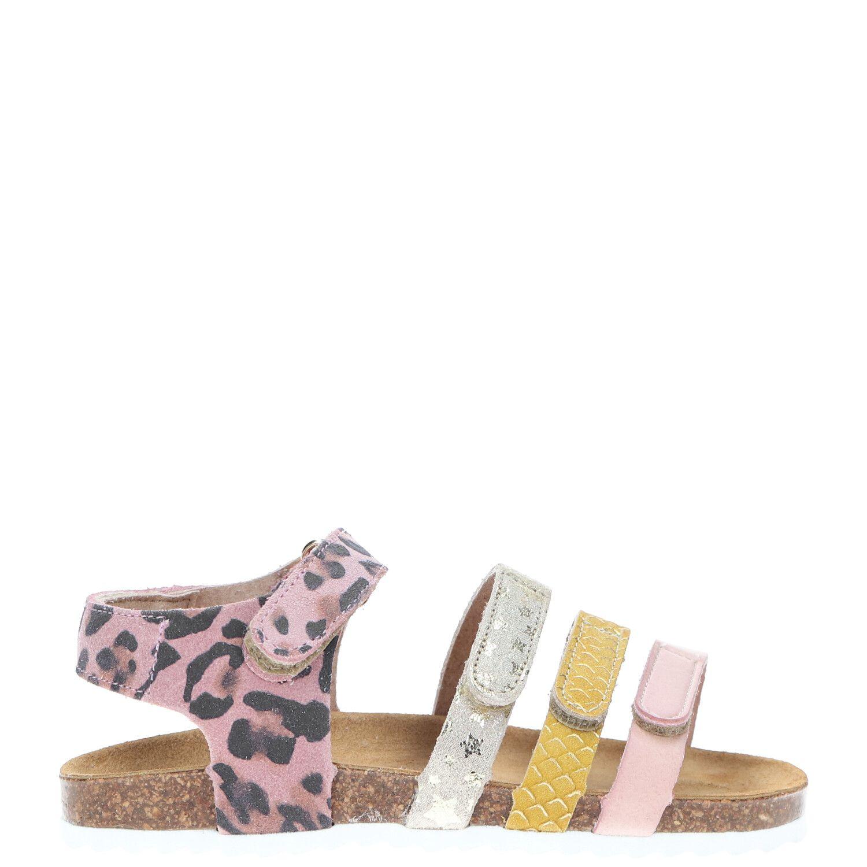Develab sandaal, Sandalen, Meisje, Maat 33, roze/multi