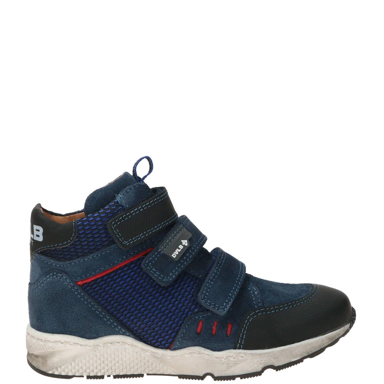 Develab klittenbandschoen, Lage schoenen, Jongen, Maat 28, blauw
