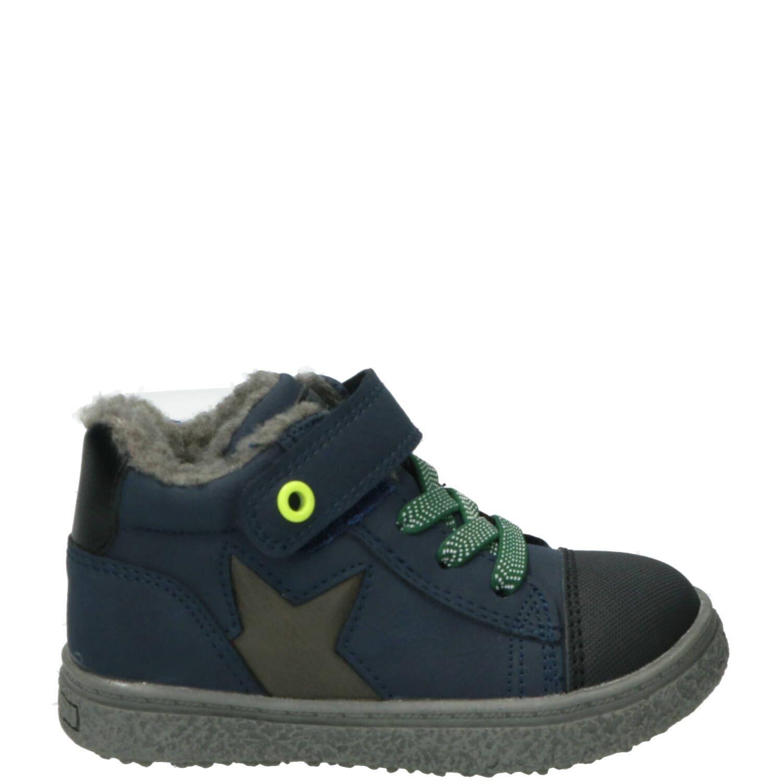Sprox halfhoge sneaker, Sneakers, Jongen, Maat 25, blauw