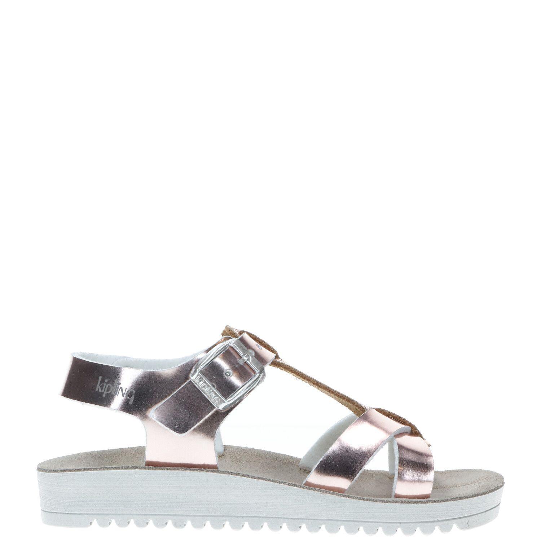 Kipling sandaal, Sandalen, Meisje, Maat 31, zilver