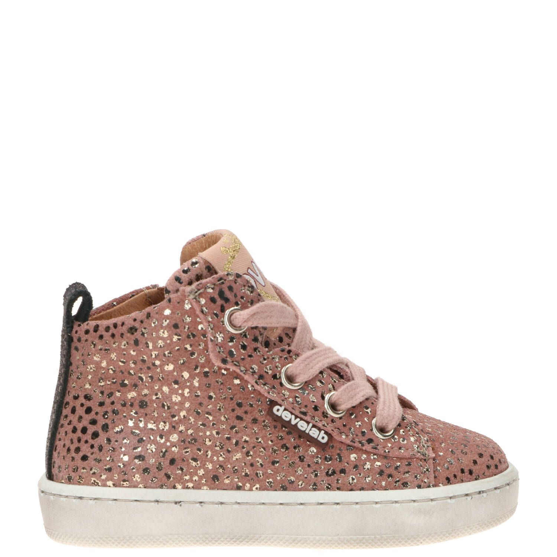 Develab babyschoen, Lage schoenen, Meisje, Maat 20, roze