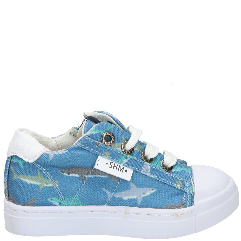 Shoesme veterschoen, Veterschoenen, Jongen, blauw