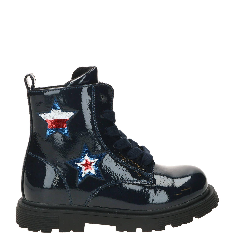 Tommy Hilfiger sneaker, Sneakers, Meisje, Maat 34, blauw