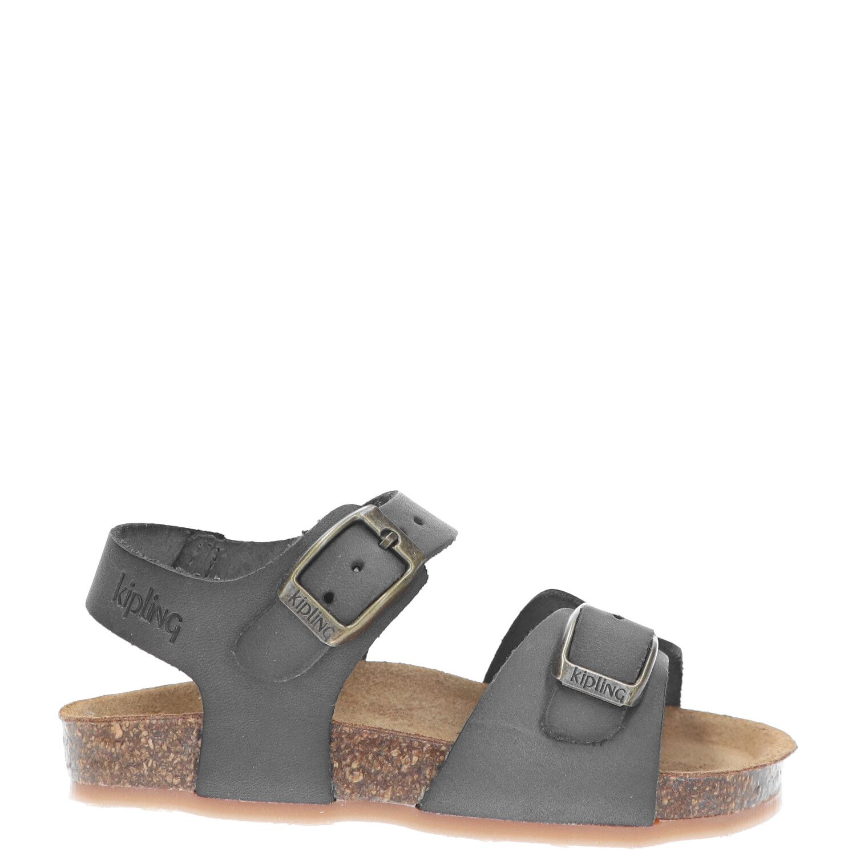 Kipling sandaal, Sandalen, Jongen, Maat 26, grijs/Kahki