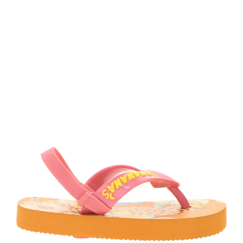 Go Banana's Jungle slipper, Slippers, Meisje, Maat 22, oranje/multi
