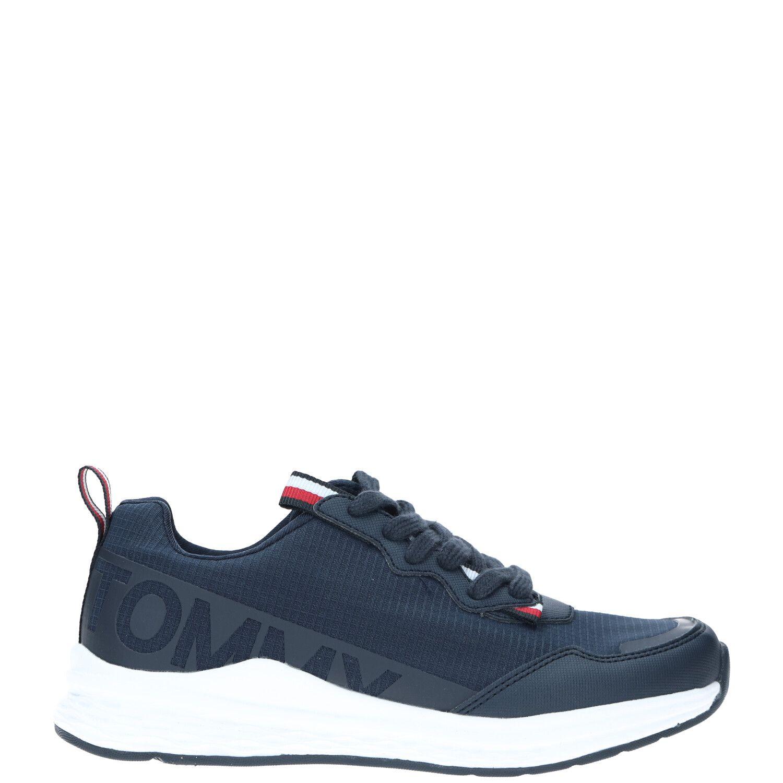 Tommy Hilfiger sneaker, Sneakers, Jongen, Maat 37, blauw