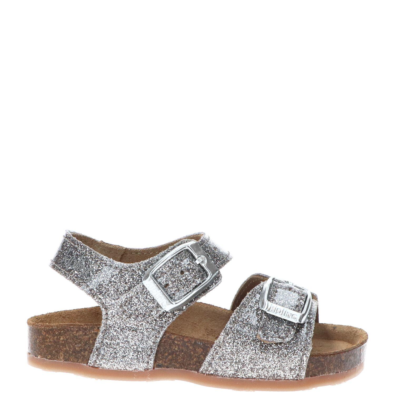 Kipling sandaal, Sandalen, Meisje, Maat 22, zilver/roze