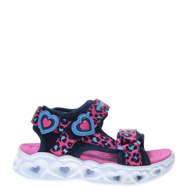 Skechers Heart Lights sandaal, Sandalen, Meisje, Maat 25, roze