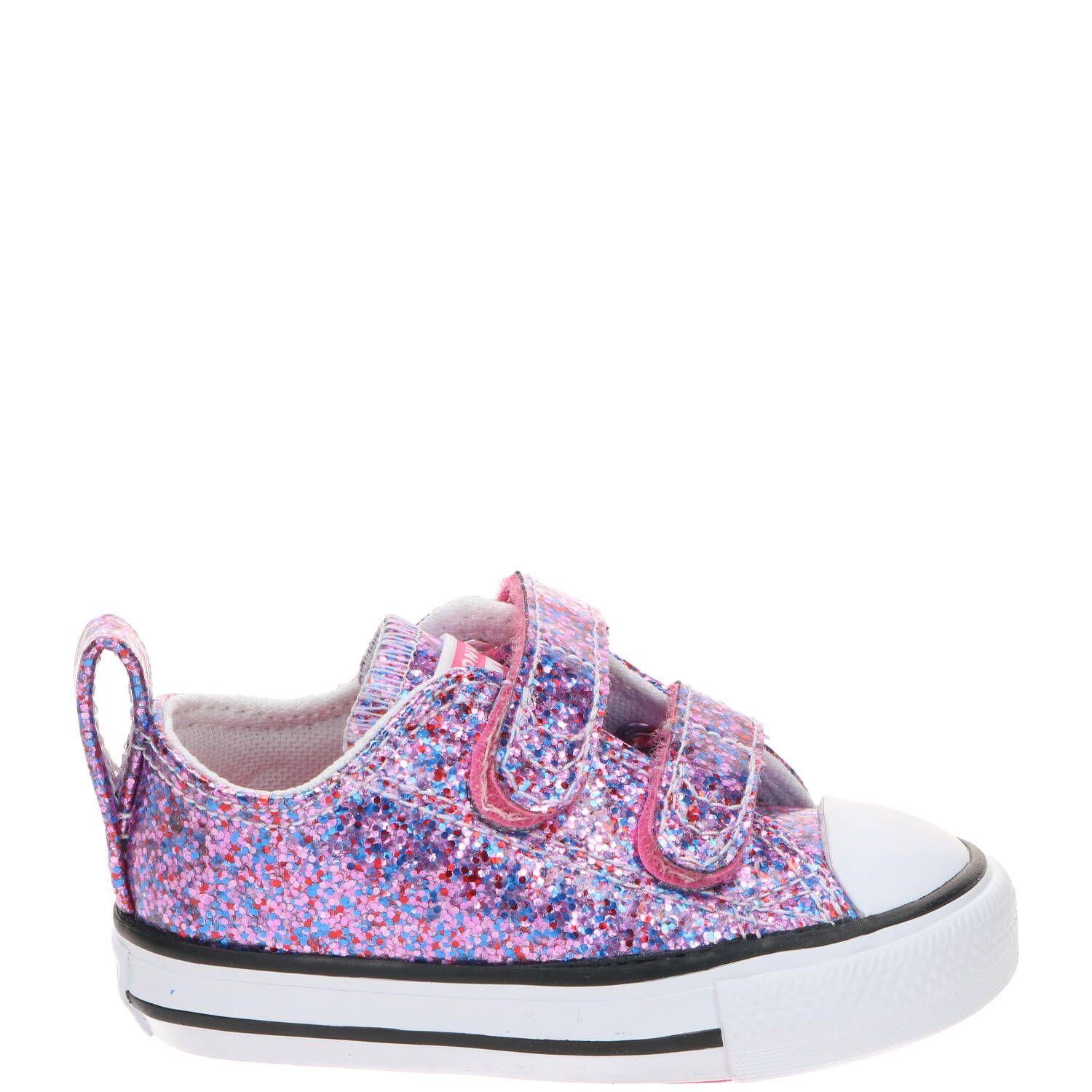 Converse Chuck Taylor All Star 2V Coated Glitter Ox sneaker, Sneakers,