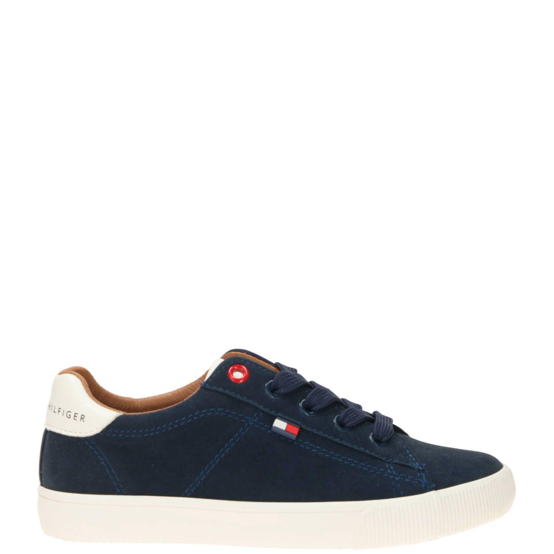 Tommy Hilfiger sneaker, Sneakers, Jongen, Maat 35, blauw