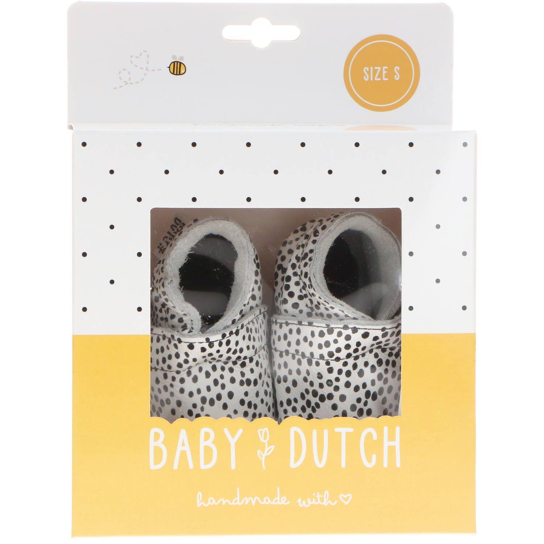 Baby Dutch babyslofje, Lage schoenen, Meisje, Maat 17, wit